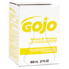 Gojo Gold & Klean Antimicrobial Lotion Soap - Fresh Scent Scent - 27.1 fl oz (800 mL) - Dirt Remover GOJ912712