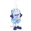 PURELL® Pal Instant Hand Sanitizer Desktop Dispenser w/8oz Pump Bottle, 3wx3 1/2dx8 1/2h GOJ9600PL1CT