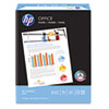 HP Office Ultra-White Paper, 92 Bright, 20lb, 8-1/2 x 14, 500/Ream HEW001422