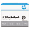 HP Office Ultra-White Paper, 92 Bright, 20lb, 8-1/2 x 11, 500/Ream, 5/Carton HEW112103