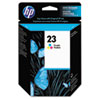 HP 23, (C1823D) Tri-color Original Ink Cartridge