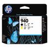 HP 940, (C4900A) Black/Yellow Printhead
