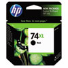 <strong>HP</strong><br />HP 74XL, (CB336WN) High-Yield Black Original Ink Cartridge