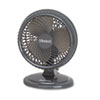 """Holmes® Lil' Blizzard 7"""" Two-Speed Oscillating Personal Table Fan, Plastic, Black HLSHAOF87BLZNUC"""