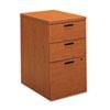 10500 Series Box/Box/File Mobile Pedestal, 15.75w x 22.75d x 28h, Bourbon Cherry