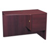 <strong>HON®</strong><br />10500 Series Curved Return, Right, 42w x 18-24d x 29 1/2h, Mahogany