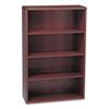 HON® 10700 Series Wood Bookcase, Four Shelf, 36w x 13 1/8d x 57 1/8h, Mahogany HON10754NN