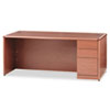 HON® 10700 Single Pedestal Desk, Full Height Right Pedestal, 72 x 36, Bourbon Cherry HON10787RHH