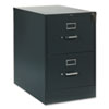 310 SERIES TWO-DRAWER FULL-SUSPENSION FILE, LEGAL, 18.25W X 26.5D X 29H, CHARCOAL