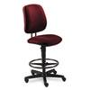 HON® 7700 Series Swivel Task stool, Burgundy HON7705AB62T