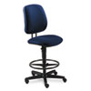 HON® 7700 Series Swivel Task stool, Blue HON7705AB90T