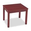 HON® Laminate Occasional Table, Rectangular, 24w x 20d x 20h, Mahogany HON80193NN