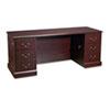 HON® 94000 Series Kneespace Credenza, 72w x 24d x 29-1/2h, Mahogany HON94243NN