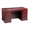 HON® 94000 Series Double Pedestal Desk, 60w x 30d x 29-1/2h, Mahogany HON94251NN