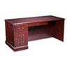 HON® 94000 Series Desk For Right Return, 66w x 30d x 29-1/2h, Mahogany HON94284LNN