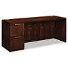 Arrive Single Pedestal Credenza, Left, 72w x 24d x 29-1/2h, Shaker Cherry