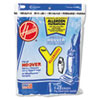 <strong>Hoover® Commercial</strong><br />Disposable Allergen Filtration Bags For Commercial WindTunnel Vacuum, 3/Pack