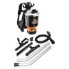 Backpack Vacuum, 9.2lb, Black