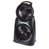Honeywell® Twin Turbo 2-in-1 High-Performance Fan, Black HWLHT9700