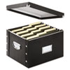 Snap N Store Storage Box, Letter/Legal, 16 1/4 x 9 3/4 x 13 1/4, Black