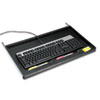 "<strong>Innovera®</strong><br />Standard Underdesk Keyboard Drawer, 21.38""w x 12.88""d, Black"
