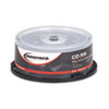Innovera® CD-RW Discs, 700MB/80min, 12x, Spindle, Silver, 25/Pack IVR78825