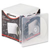 <strong>Innovera®</strong><br />Slim CD Case, Clear, 25/Pack