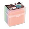 Innovera® CD/DVD Slim Storage Box, Holds 20 Discs, Clear IVR81901