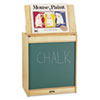 <strong>Jonti-Craft</strong><br />Big Book Easels, 24.5w x 15d x 20h, Green