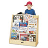 <strong>Jonti-Craft</strong><br />Pick-a-Book Stand Wish Flush Back, 30w x 13.5d x 27.5h, Birch