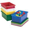 Cubbie Trays, 8.63w x 13.5d x 5.25h, Blue