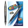 <strong>Pilot®</strong><br />G6 Retractable Gel Pen, Fine 0.7mm, Black Ink, Black Barrel