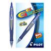 <strong>Pilot®</strong><br />G6 Retractable Gel Pen, Fine 0.7mm, Blue Ink, Blue Barrel