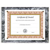 Award-A-Plaque Document Holder, Acrylic/Plastic, 10-1/2 x 13, Black