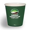 Eco-Friendly Paper Hot Cups, 10oz, Green Mountain Design, Multi, 1000/Carton