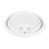 <strong>Dart®</strong><br />Lift Back and Lock Tab Cup Lids, Fits 10 oz to 24 oz Cups, White, 100/Sleeve, 10 Sleeves/Carton