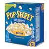 Microwave Popcorn, Butter, 1.2 oz Bags, 12/Box