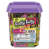 Wonka Assorted Flavor Laffy Taffy, 3.08lb, 145 Wrapped Pieces/Tub