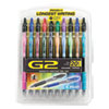 <strong>Pilot®</strong><br />G2 Premium Gel Pen, Retractable, Fine 0.7 mm, Assorted Ink and Barrel Colors, 20/Pack