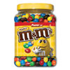<strong>M & M's®</strong><br />Milk Chocolate Coated Candy with Peanut Center, 62 oz Tub