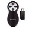 <strong>Kensington®</strong><br />Wireless Presenter with Red Laser, 65 ft. Range, Black/Silver