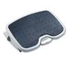 Kensington® SoleMate Plus Adjustable Footrest w/SmartFit System, 3-1/2h to 5h, Platinum/Gray KMW56146