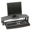 Kensington® Comfort Desktop Keyboard Drawer With SmartFit, 26w x 13-1/2d, Black/Gray KMW60006