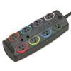 Kensington SmartSockets K62690 8-Outlets Surge Suppressor - 8 x AC Power - 2490 J KMW62690