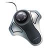 Orbit Optical Trackball Mouse, USB 2.0, Left/Right Hand Use, Black/Silver