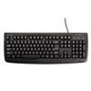 Pro Fit USB Washable Keyboard, 104 Keys, Black