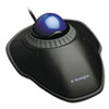 <strong>Kensington®</strong><br />Orbit Trackball with Scroll Ring, USB 2.0, Left/Right Hand Use, Black/Blue