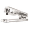 Kantek Clear Acrylic Standard Stapler, 25-Sheet Capacity, Clear KTKAD80