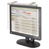 "LCD Protect Privacy Antiglare Deluxe Filter, 19""-20"" LCD, Silver"