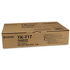 TK717 Toner, 34,000 Page-Yield, Black